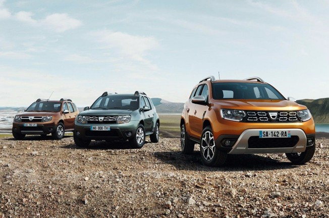 Dacia Duster 2018 - frontal