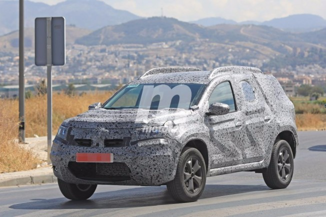 Dacia Duster 2018 - foto espía