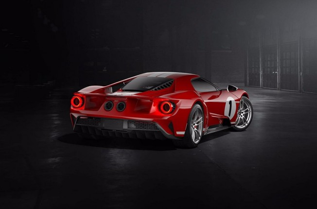 Ford GT '67 Heritage Edition - posterior
