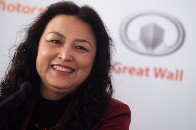 Wang Fengying Presidenta de Great Wall