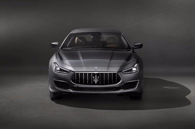 Maserati Ghibli GranLusso 2018 - frontal