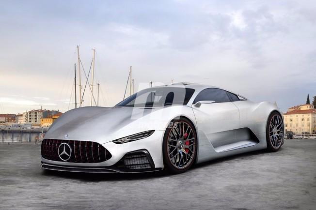 Mercedes-AMG Project ONE - recreación