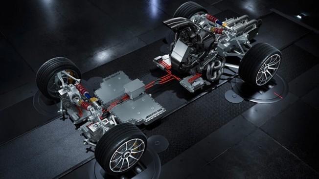 Mercedes-AMG Project ONE - esquema técnico