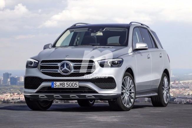 Mercedes Clase GLE 2019 - recreación