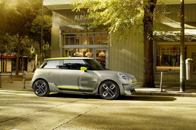 MINI Electric Concept - lateral