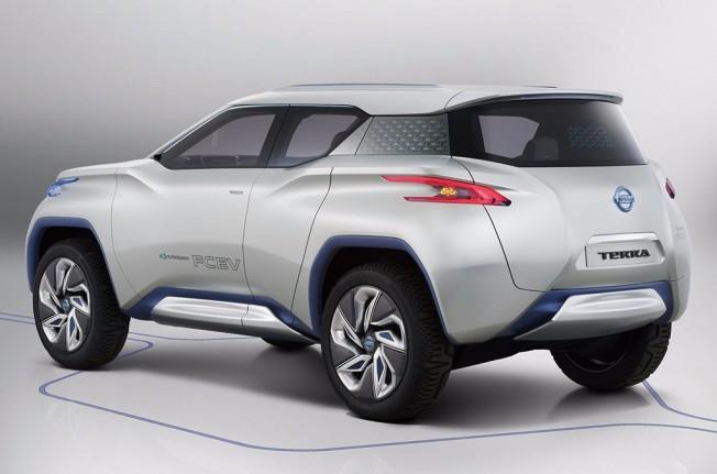 Nissan TeRRA Concept - posterior