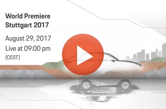 Presentación del Porsche Cayenne en directo
