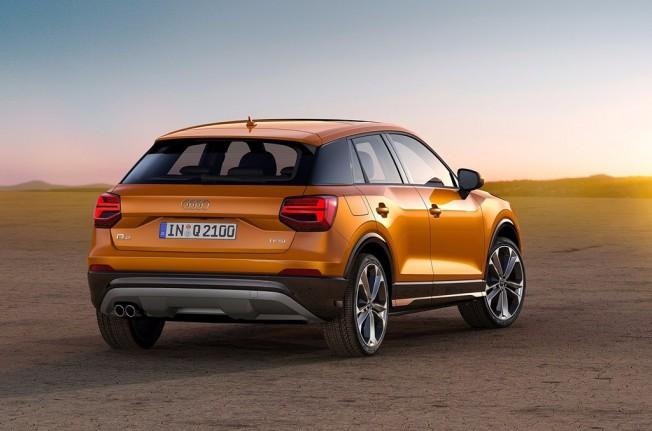 Audi Q2 - posterior