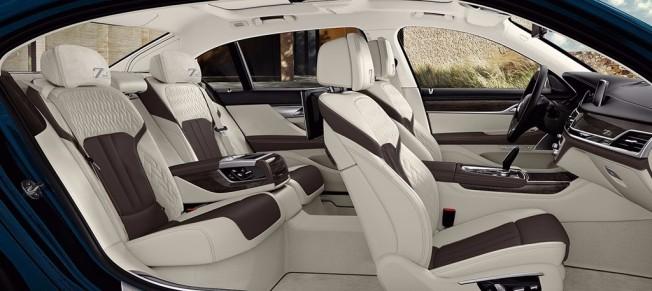 BMW Serie 7 Edición 40 Aniversario - interior