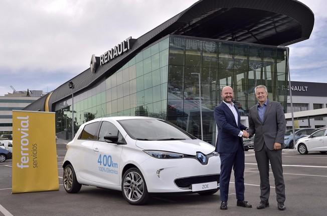 Renault y Ferrovial - servicio de carsharing de Madrid