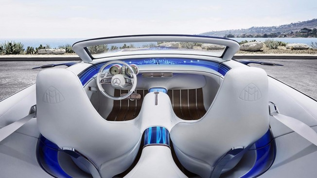 Vision Mercedes-Maybach 6 Cabrio - interior