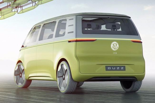 Volkswagen I.D. Buzz Concept - posterior