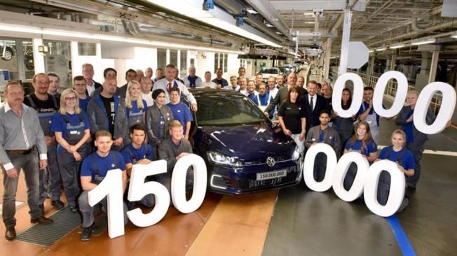 Volkswagen - 150 millones de vehículos producidos