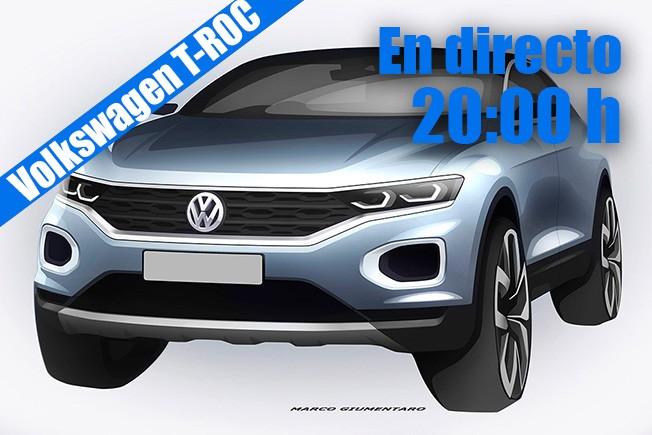 Volkswagen T-ROC - presentación en directo