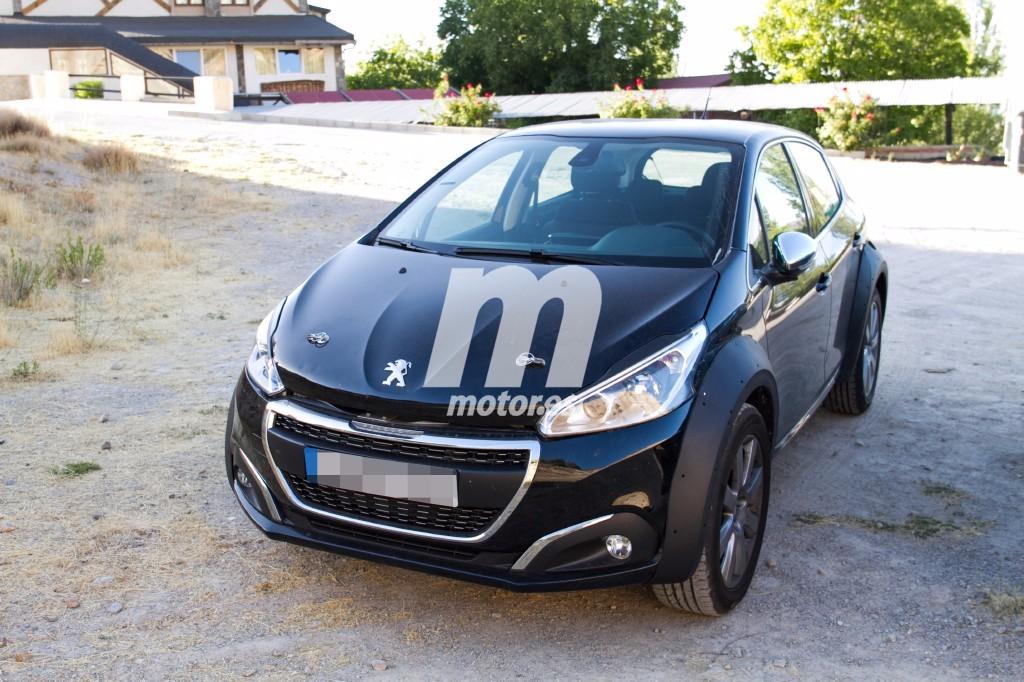 Peugeot comienza las pruebas del 1008 que llegará en 2019