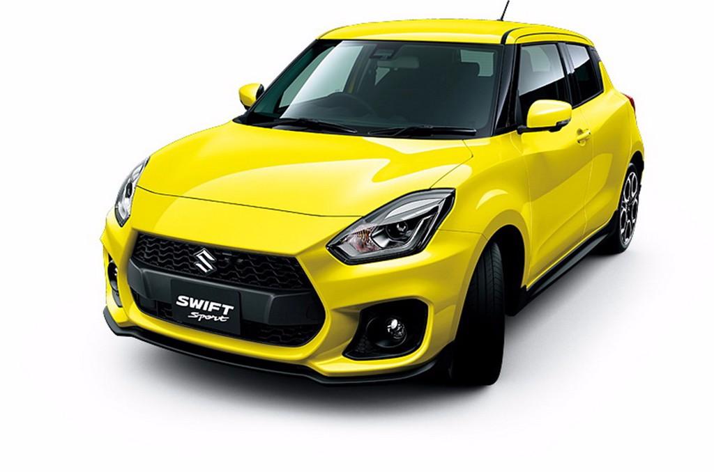 Nuevas imágenes del Suzuki Swift Sport 2018: la versión más deportiva con 140 CV