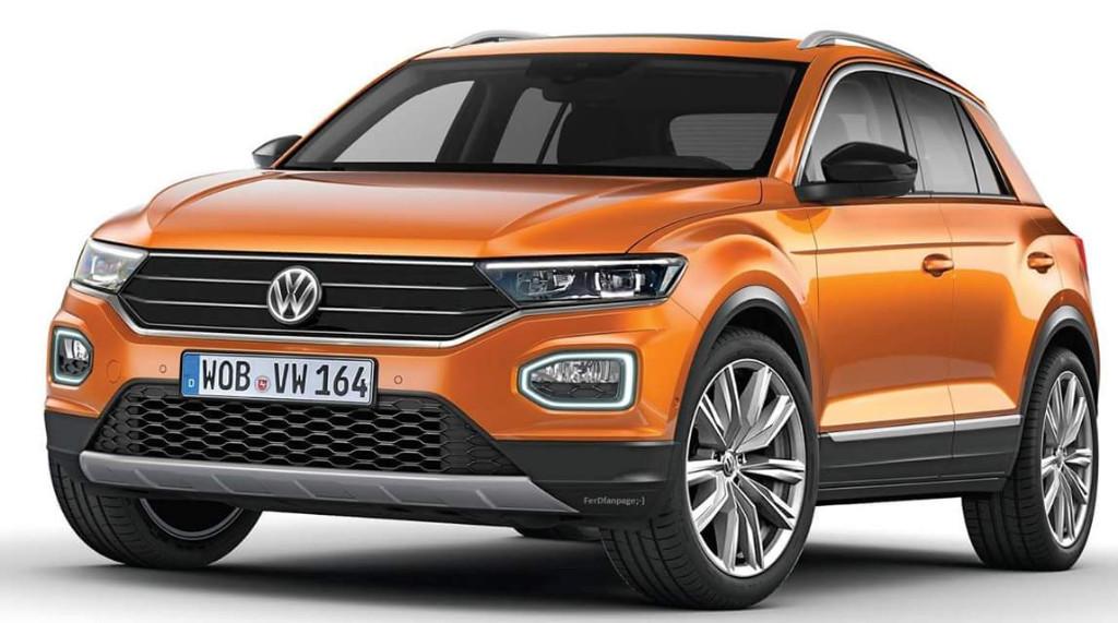 Volkswagen T-ROC 2018: filtrado al completo solo unas horas antes