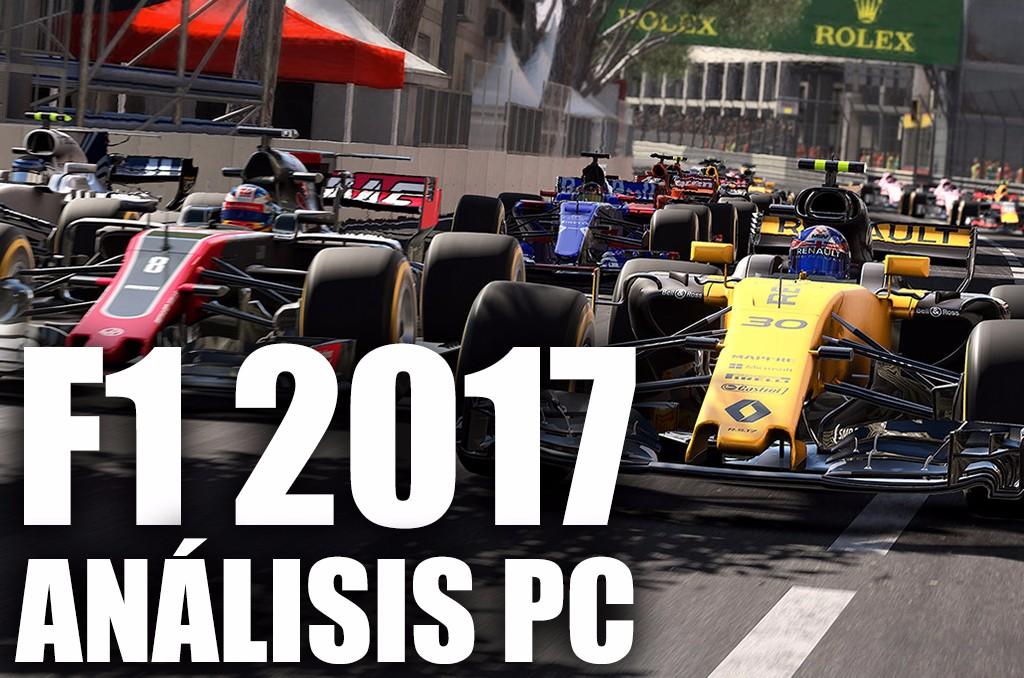 Análisis F1 2017 para PC: la máxima categoría del motor regresa por todo lo alto