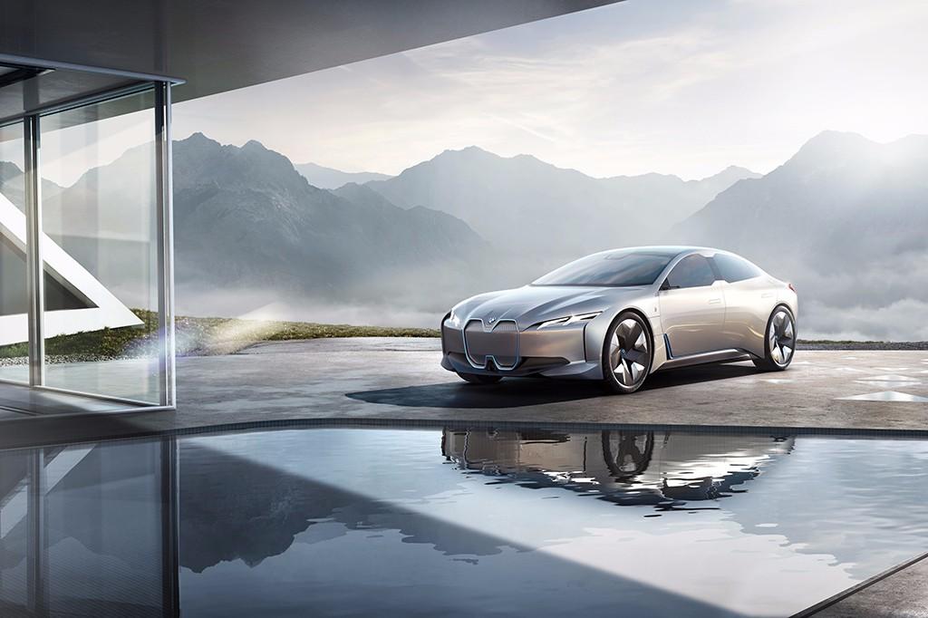 BMW anticipa en Frankfurt su próximo eléctrico con el i Vision Dynamics