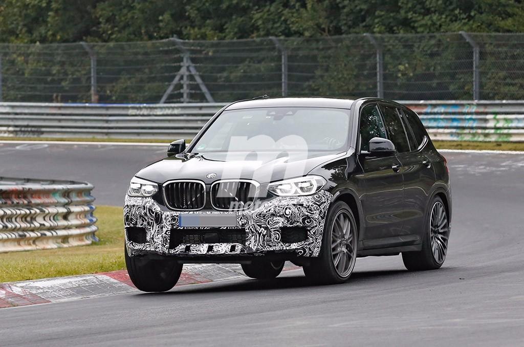 El BMW X3 M 2018 pierde camuflaje en estas nuevas fotos espía