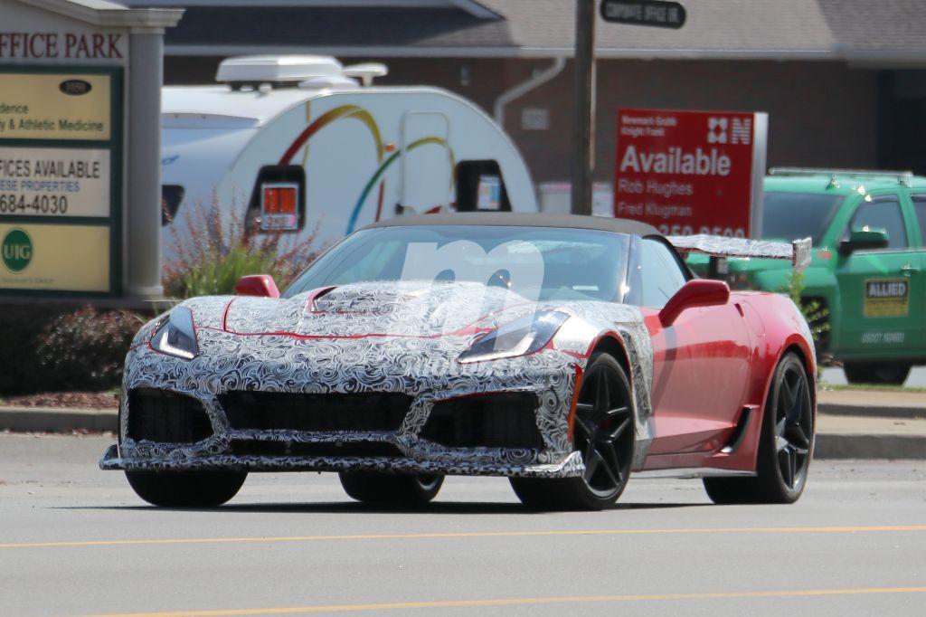 Chevrolet Corvette ZR1: asómate por primera vez a su interior