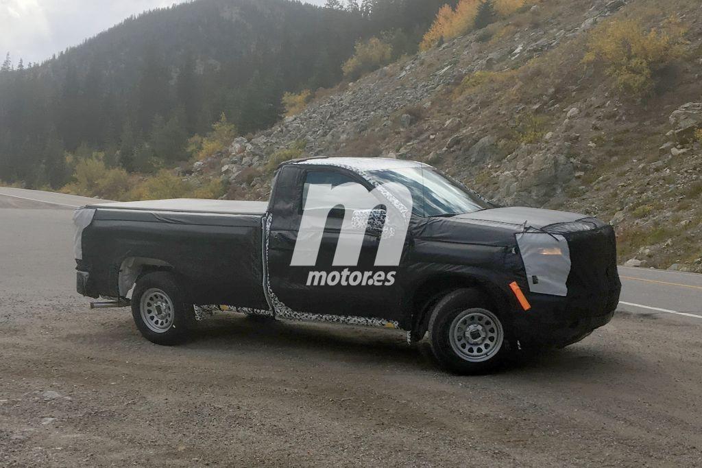 Chevrolet Silverado 2019: primeras imágenes de la versión regular cab