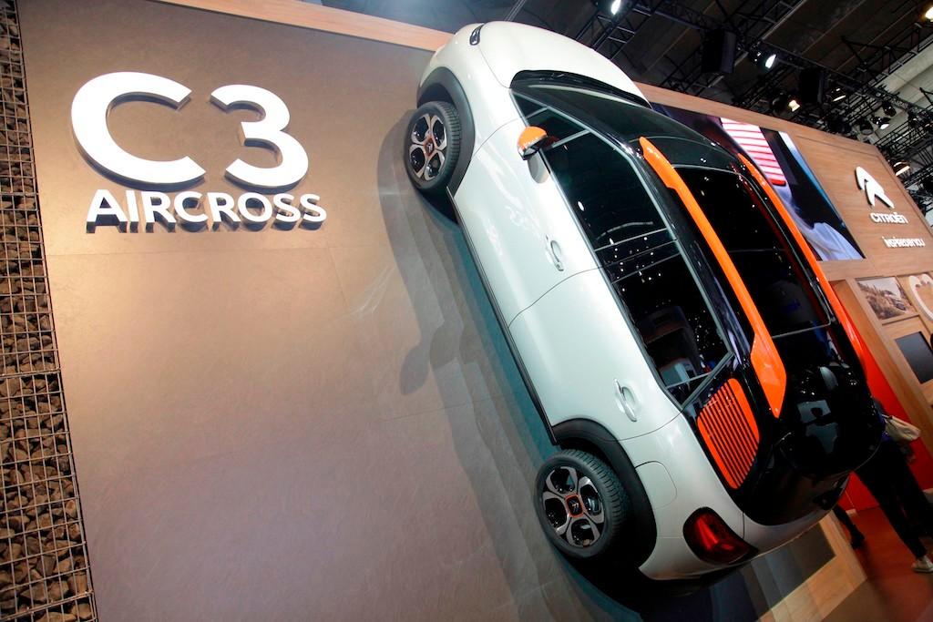 Os mostramos en vídeo el nuevo Citroën C3 Aircross desde Frankfurt 2017