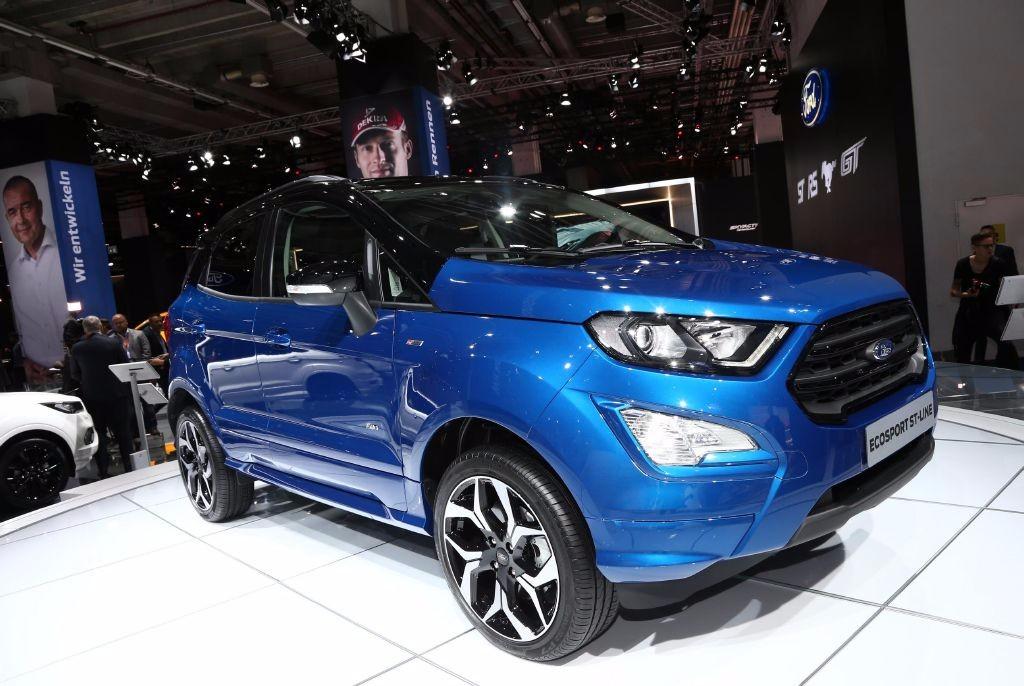 Ford EcoSport 2018: el SUV se renueva y estrena el acabado ST-Line