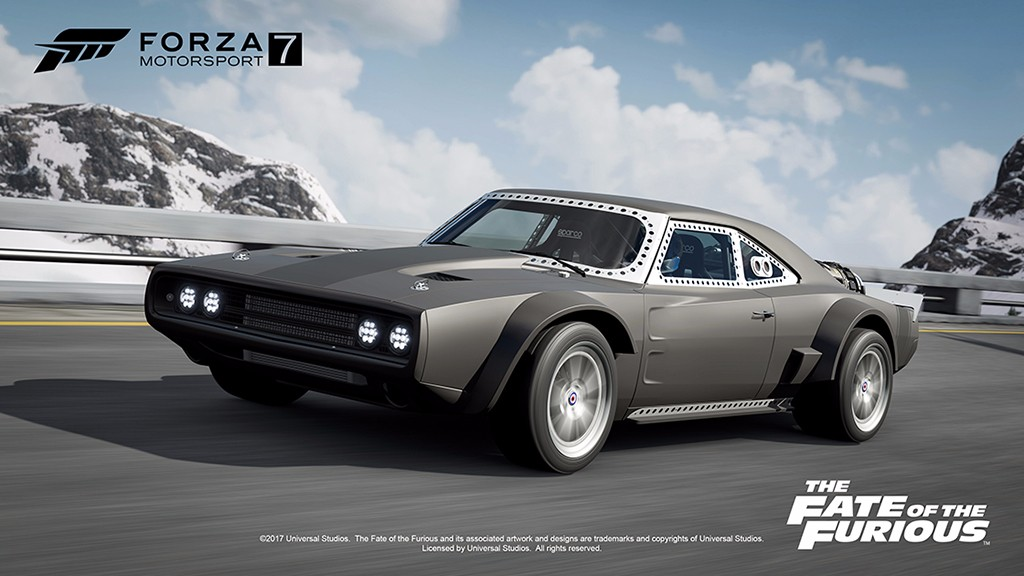 Forza Motorsport 7 contará con el pack de coches 'The Fate of the Furious'