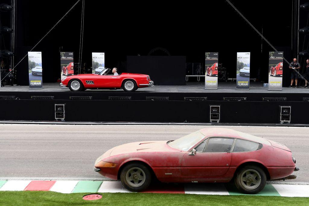 Leggenda e Passione: espectacular resultado en la subasta Ferrari en Fiorano