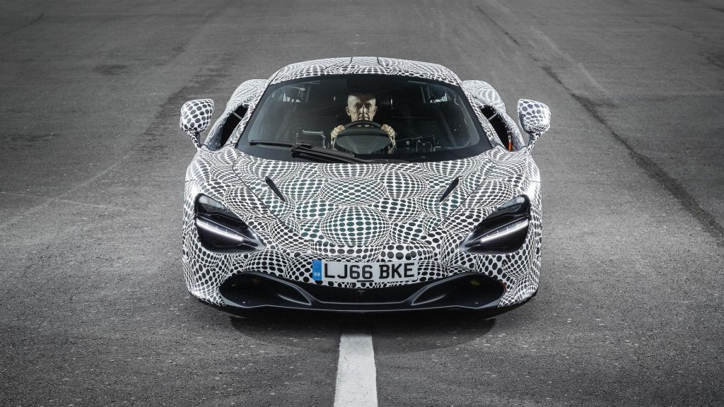 McLaren presenta el prototipo de desarrollo del BP23 triplaza