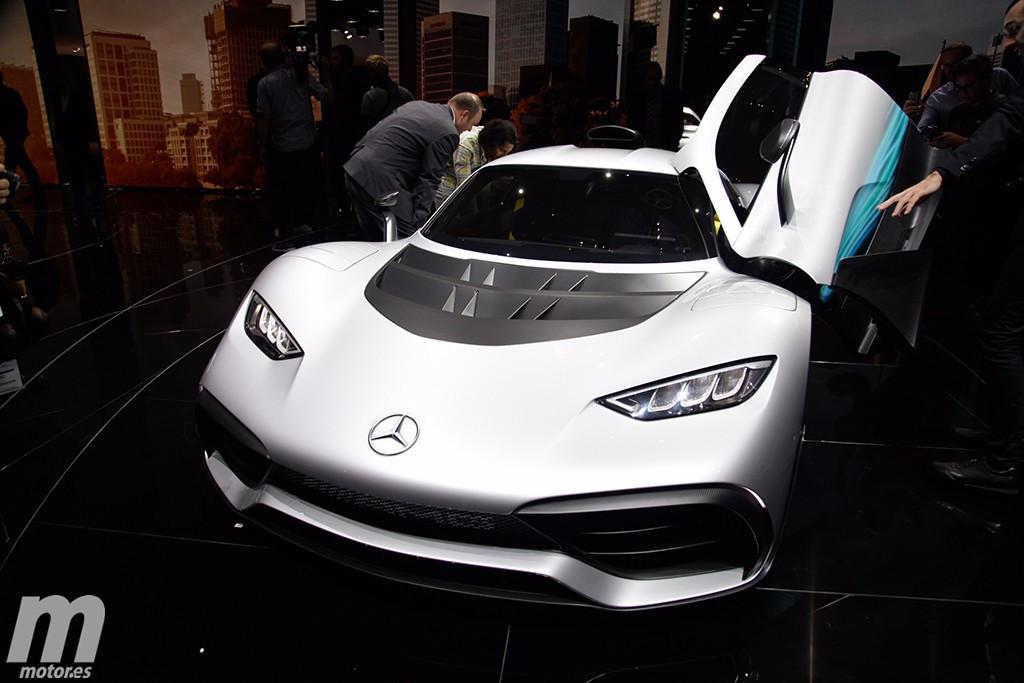 Mercedes-AMG revela el Project One en Frankfurt