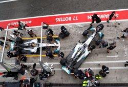 Bottas toma el relevo del dominio de Mercedes