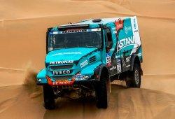 Diego Vallejo debuta en raids con el equipo De Rooy Iveco