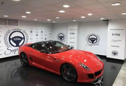 El Ferrari 599 SA Aperta más espectacular se encuentra en España