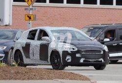 El nuevo Ford Focus se deja ver con sus ópticas definitivas