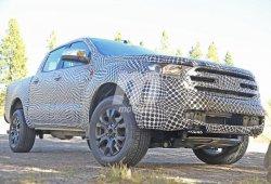 Ford Ranger 2019: lo cazamos en España y podemos ver su interior