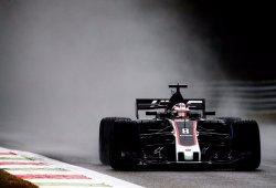 Grosjean critica a la FIA tras su accidente en la clasificación de Monza