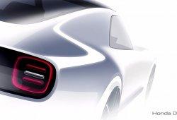 Honda Sports EV Concept: primer anticipo antes de su debut en Tokio