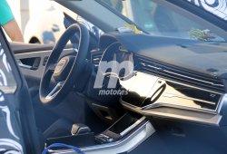 Estas nuevas fotos del interior del Audi Q8 2018 revelan interesantes detalles