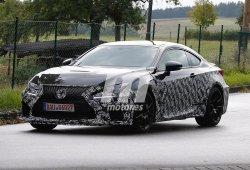 Nuevas fotos espía del Lexus RC F Sport
