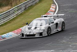 McLaren 675LT: avistado un misterioso prototipo muy modificado en Nürburgring