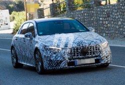 Mercedes-AMG A40: ya monta su nueva parrilla Panamericana definitiva