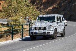 Mercedes Clase G 2018: extraña unidad con nueva configuración de escape