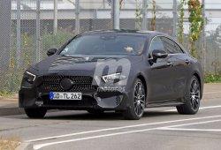 Mercedes CLS 2018: cazado con nueva configuración delantera