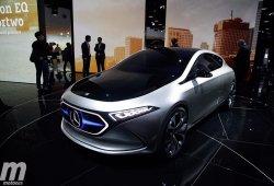 Mercedes EQA Concept: el futuro compacto eléctrico de 272 CV