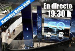 En directo: las novedades de la Mercedes Media Night desde Frankfurt 2017
