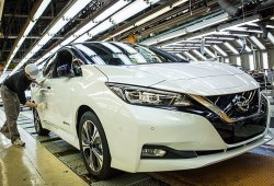 La producción del Nissan Leaf 2018 se iniciará en Europa a finales de 2017