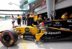 Renault vuelve a la normalidad un GP después: Hülkenberg 8º, Palmer 12º