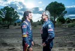 Sainz vs. Sainz: padre e hijo se retan en un cara a cara sobre tierra